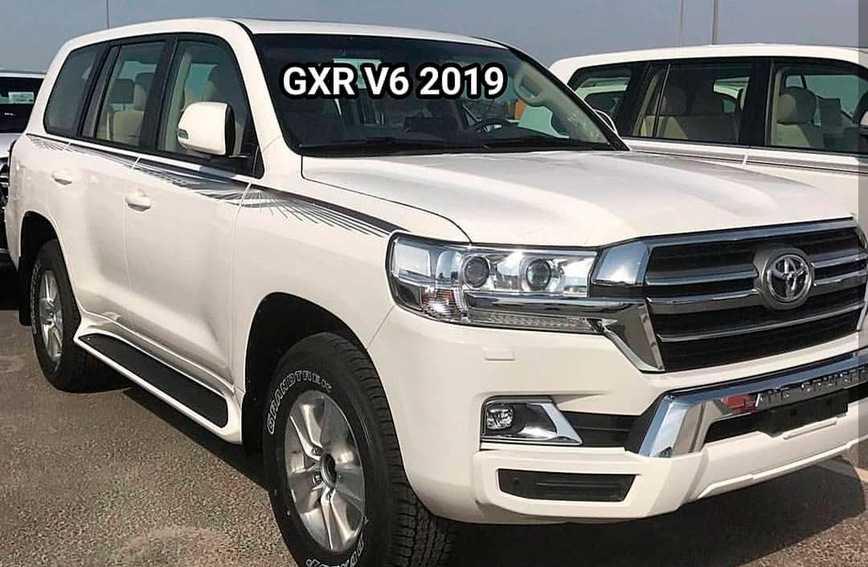 Toyota Land Cruiser и Lexus LX 570 2019