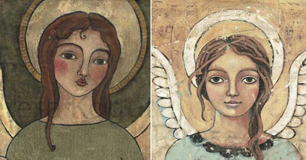 Выберите ангела и получите свое небесное послание