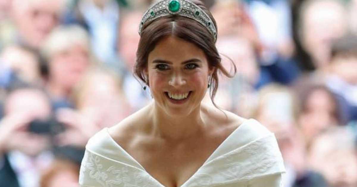 принцесса Евгения не стала надевать фату на свадьбу