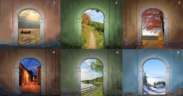 Выберите арку и вы узнаете, по какому жизненному пути вы хотите пойти!