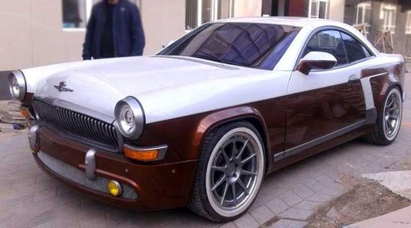 Волга ГАЗ-21 на базе купе Mercedes-Benz CL 55 AMG с 500 л.с