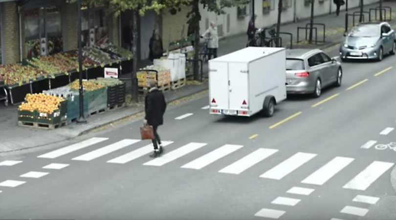 Volkswagen жестко и весело разыграл прохожих и полицию