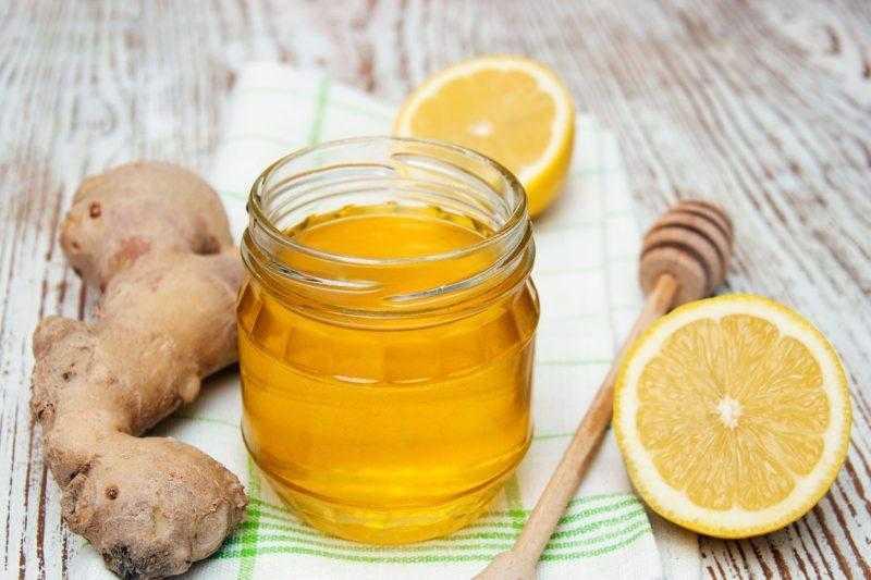 Имбирь с лимоном и медом - рецепт здоровья