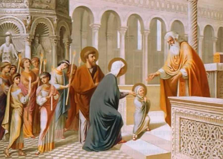 4 ДЕКАБРЯ: ВВЕДЕНИЕ ВО ХРАМ ПРЕСВЯТОЙ БОГОРОДИЦЫ