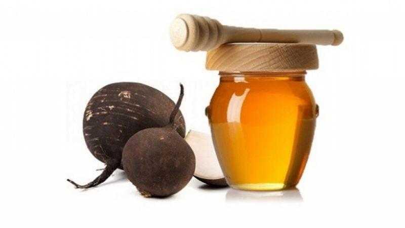 Черная редька с медом от кашля 3 рецепта приготовления