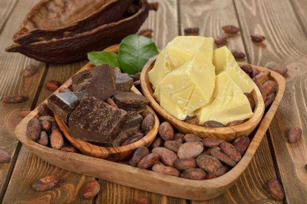 Масло какао: полезные и лечебные свойства, применение