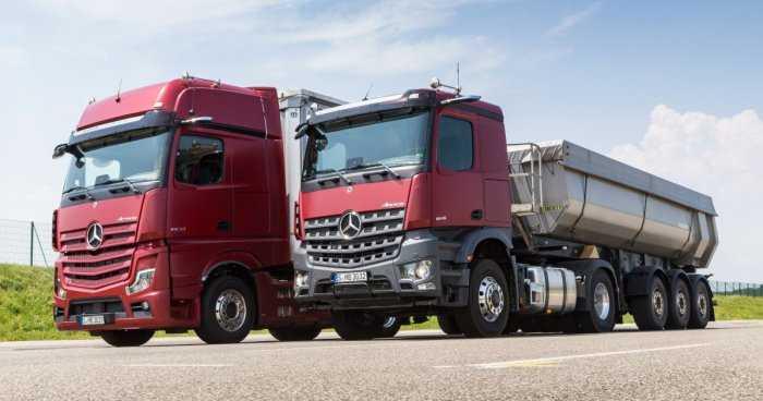 Почему новые грузовики Mercedes лишились боковых зеркал, и как они теперь ездят