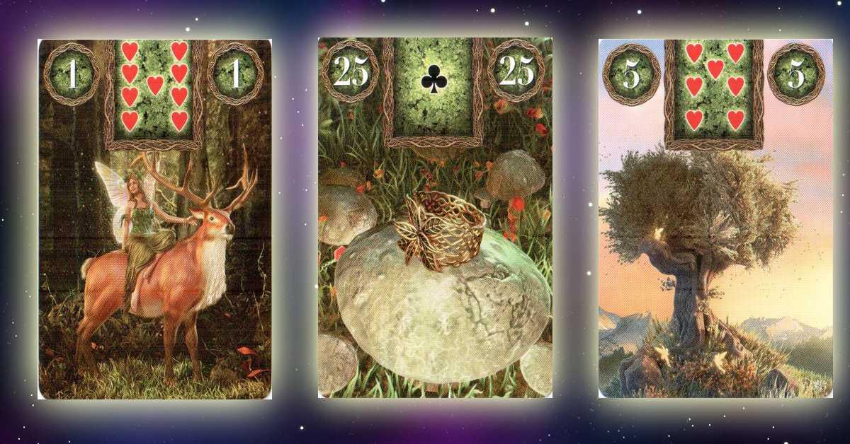 Магическая карта Ленорман даст ответ, когда сбудется желание