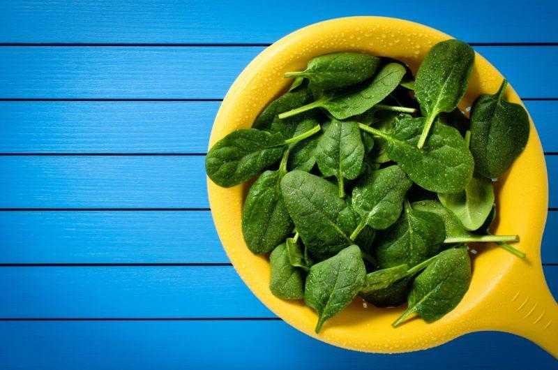 Шпинат: польза и вред для здоровья, полезные свойства