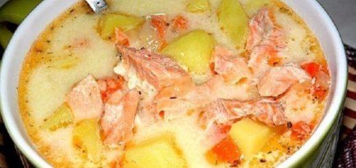 1 раз приготовила и влюбилась навсегда! Финский суп с лососем и сливками