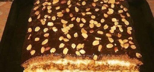 Потрясающе вкусный «Домашний» торт. Попробовав раз, готовлю постоянно!