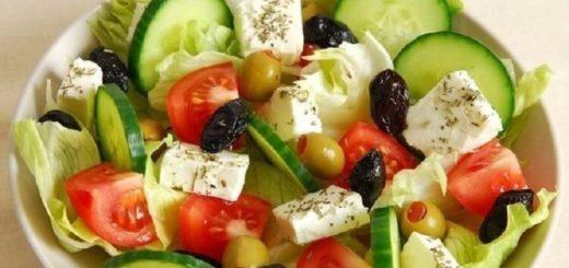 Подборка самых вкусных салатов без майонеза