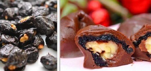 Самый полезный десерт: Чернослив в шоколаде! Детям можно есть килограммами