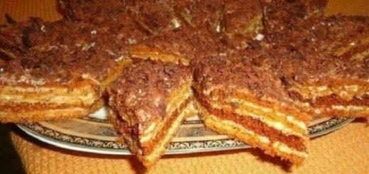Приготовлю сегодня своему мужу — тортик «Мужской идеал»