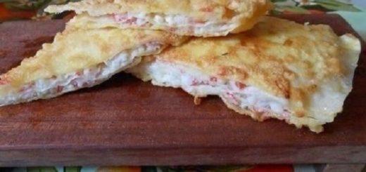 Удивите гостей оригинальным угощением — необычные гренки из лаваша