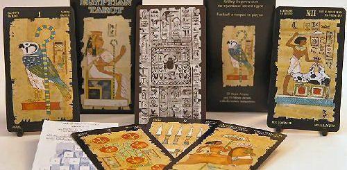 Расклады на Египетских Таро