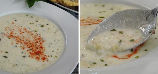 Турецкий суп из булгура и йогурта (Yoğurtlu Bulgur Çorbası Tarifi)
