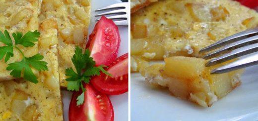 Омлет с картофелем (Patatesli omlet)