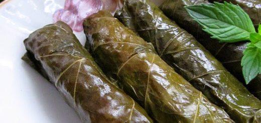Сарма из виноградных листьев (Yaprak Sarması)