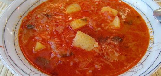 Крчик - суп из квашеной капусты