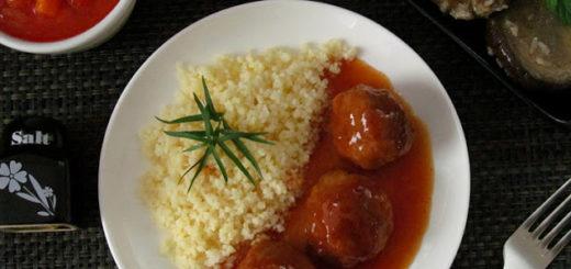 Фрикадельки в кисло-сладком соусе (китайская кухня)