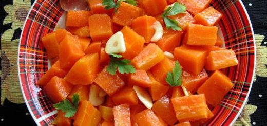Гарнир из моркови по-итальянски