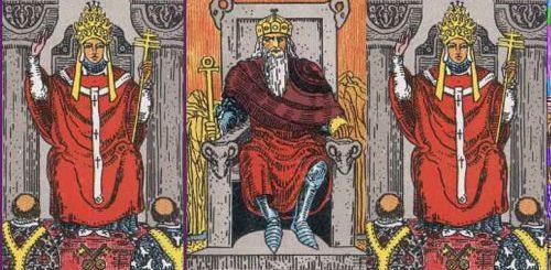 Толкование карты таро император