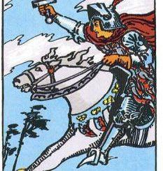 Основные значения рыцарь мечей в таро