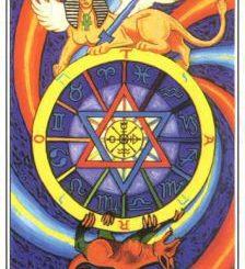 Таро десятого аркана — колесо судьбы