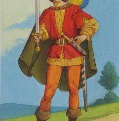 Варианты значения пажа мечей в таро