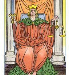 Старший Аркан Справедливость — толкование карты Таро