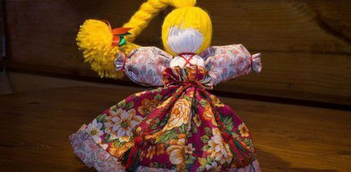 Оберег молодости и красоты – кукла-Веснянка