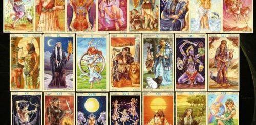 Женское магическое таро — Союз Богинь
