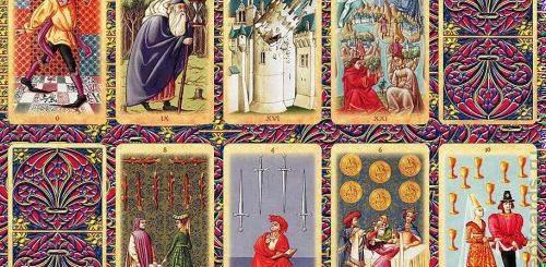 Особенности средневековых карт таро
