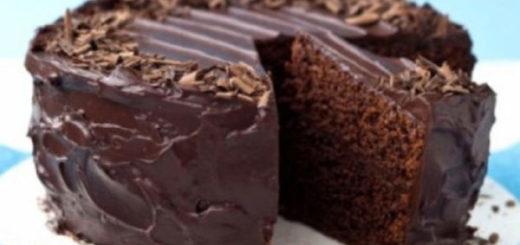 Шоколадный пирог без яиц: супер-влажный и супер-вкусный!