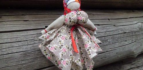 Вепсская обережная куколка