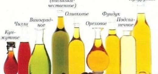 Растительные масла — информация о каждом. Сохрани, пригодится!