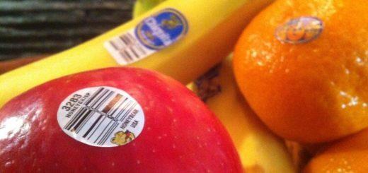 О чем расскажут наклейки на фруктах