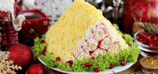 Монастырская изба из крабовых палочек, рецепт очень вкусной закуски