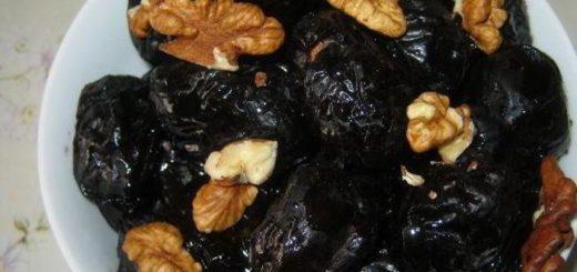 Чернослив, сметана и грецкий орех - вот он, идеальный десерт!