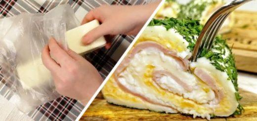 Очень вкусная и невероятно нежная закуска из плавленых сырков