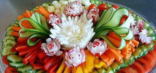 Как красиво оформить мясную, рыбную и фруктовую нарезки - 25+ чудесных идей!