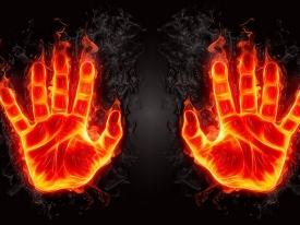 Ладонь Огня и характер человека