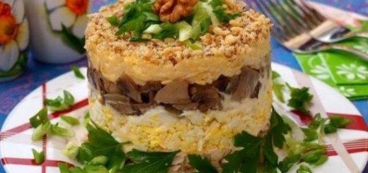 Сытные и питательные салаты