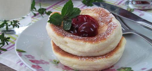 Японские панкейки-суфле (Japanese Souffle Pancakes)