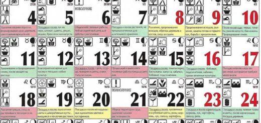 Лунный посевной календарь на март 2019 года