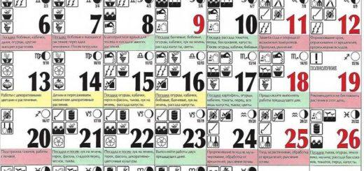 Лунный посевной календарь на май 2019 года