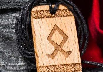 Руна рода: cлавянская руна - мощный оберег из бронзы