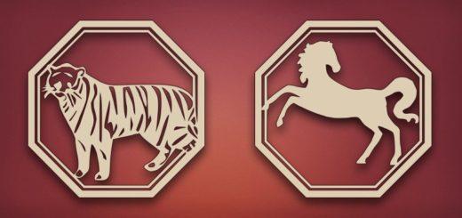 Совместимость Тигра и Лошади