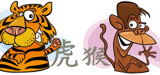 Совместимость Тигра иОбезьяны